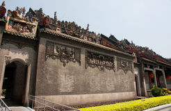 Guangzhou, China, the Chen clan academy of ancient buildings Royalty Free Stock Photography
