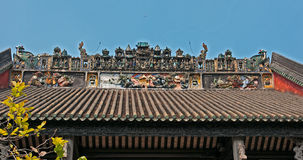 Guangzhou, China, the Chen clan academy of ancient royalty free stock images