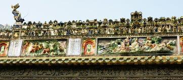 Guangzhou, China, die Chen-Clanakademie von altem Lizenzfreies Stockbild