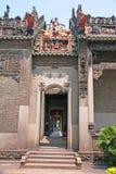 Guangzhou, China, die Chen-Clanakademie von alten Gebäuden Lizenzfreie Stockfotos