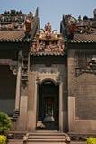 Guangzhou, China, die Chen-Clanakademie von alten Gebäuden Lizenzfreie Stockfotografie
