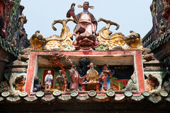 Guangzhou, China, die Chen-Clanakademie von alten Gebäuden Stockbilder
