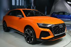Audi Q8 hybrid concept SUV Royalty Free Stock Photo