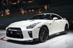 NISSAN GT-R sportscar Royalty Free Stock Images