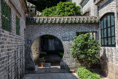 Guangzhou, China`s famous tourist attraction, the ancestral hall of Chen, a house with a distinctive architectural feature of Sout Stock Photo