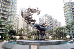 Guangzhou, china: sculpture landscape Stock Photography