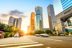 Guangzhou, China. Skyscrapers downtown area of Guangzhou, China royalty free stock photo