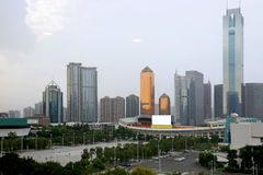 Guangzhou CITIC Plaza Stock Photos