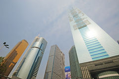 Guangzhou CITIC Tower Stock Photography