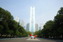 Guangzhou CITIC Tower Stock Images