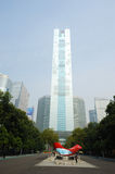 Guangzhou CITIC Tower Royalty Free Stock Photography