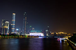 Free Guangzhou City Night. Royalty Free Stock Image - 46473366