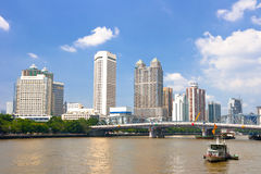 Guangzhou city scenery Stock Photo