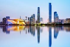 Guangzhou city skyline Stock Images