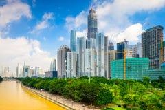 Guangzhou Cityscape Stock Image