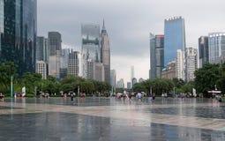 Guangzhou downtown, China Royalty Free Stock Photo