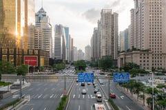 Guangzhou downtown, China Stock Photos