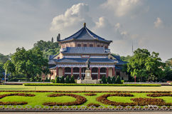 GuangZhou, Dr. Memorial Hall van Sun Yat-sen Stock Foto