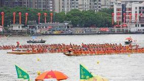 Guangzhou 2015 Dragon Boat Race internacional 1 Imagen de archivo libre de regalías