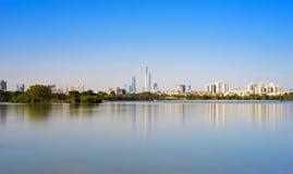 Guangzhou drapaczy chmur linia horyzontu Zdjęcie Royalty Free