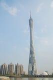 Guangzhou eminente vertegenwoordiger van moderne architectuur, Guangzhou-de toren van TV Royalty-vrije Stock Afbeelding