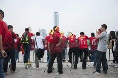 Guangzhou Evergrande wint de AFC Kampioenenliga, Royalty-vrije Stock Afbeelding