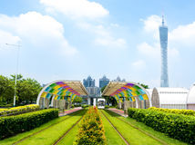 Guangzhou färger royaltyfri fotografi