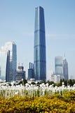 Guangzhou finanse międzynarodowe Centre Obraz Royalty Free