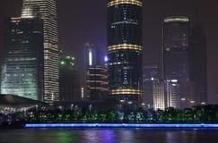 Guangzhou Finanse Międzynarodowe Centrum Obraz Royalty Free