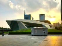 Guangzhou groot theater royalty-vrije stock afbeeldingen