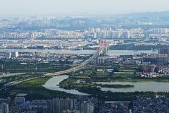 Guangzhou gwiazdy droga Obraz Royalty Free