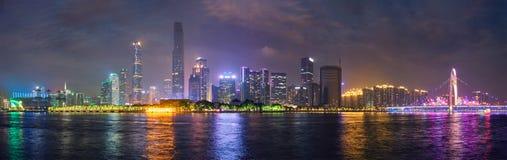 Guangzhou horisont porslin guangzhou royaltyfri fotografi