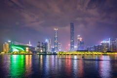Guangzhou horisont porslin guangzhou royaltyfria foton