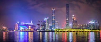 Guangzhou horisont porslin guangzhou royaltyfri bild