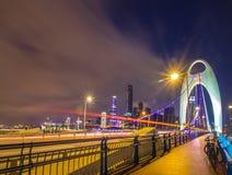 Guangzhou hunting DE bridge Stock Photo