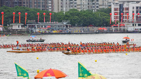 2015 Guangzhou Internationaal Dragon Boat Race 1 Royalty-vrije Stock Afbeelding