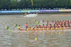 Guangzhou International Dragon Boat Invitational Tournament Stock Photography