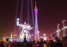 The Guangzhou International Festival of lights.Rob Stock Photos