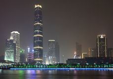 Guangzhou International Finance Center Royalty Free Stock Photo
