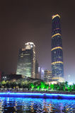 The Guangzhou International Finance Center (GZIFC) Royalty Free Stock Images
