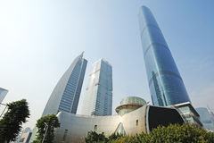 The Guangzhou International Finance Center (GZIFC) Stock Photos