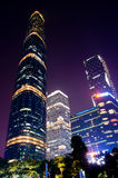 The Guangzhou International Finance Center Royalty Free Stock Photo