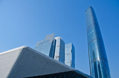 The Guangzhou International Finance Center (GZIFC) Stock Photography
