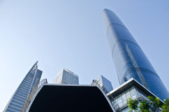 The Guangzhou International Finance Center (GZIFC) Stock Image