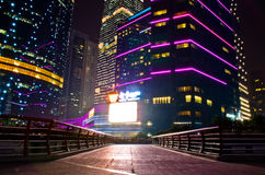Guangzhou International Finance Center. Near Pearl river Royalty Free Stock Photo