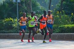 Guangzhou international marathon runner Stock Photo