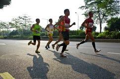 Guangzhou international marathon runner Royalty Free Stock Photos