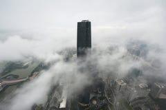 Guangzhou internationell finansiell mitt Arkivfoto
