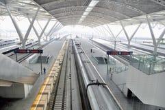 guangzhou järnväg södra station Royaltyfri Foto