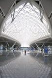 guangzhou järnväg södra station royaltyfri bild